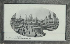 Postcard exhibitions Court of Arts Imperial international Exhibition London 1909