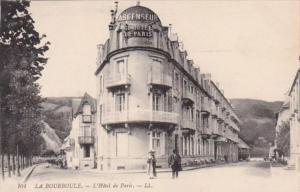 France La Bourboule L'Hotel de Paris