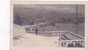 RP: SPLIT , Croatia , 1920-40s; Marjan Mountains, looking down at city