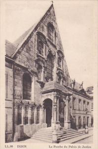 Belgium Dijon Le Porche du Palais de Justice