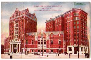 YMCA Buffalo NY   (crease)