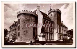 Old Postcard Angouleme Town Hall And Gardens
