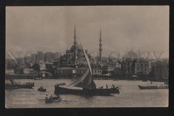 102222 TURKEY Constantinople Mosquee Valida Vintage photo PC