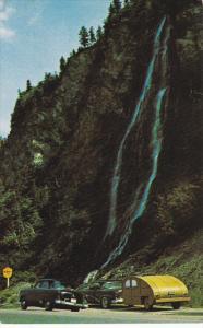 GASPE, Quebec, Canada, PU-1967; Le Ruisseau Sorel, Waterfall
