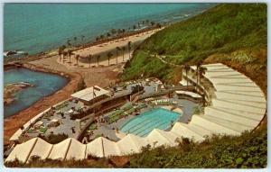 LAS CROABAS, FAJARDO Puerto Rico  Lanai Pool  EL CONQUISTADOR HOTEL   Postcard