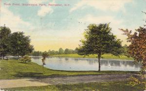 ROCHESTER , New York , PU-1910 ; Duck Pond , Maplewood Park