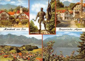 Kochel am See Alpen, Schmied v. Kochel Statue Herzogstand Auto Cars Lake
