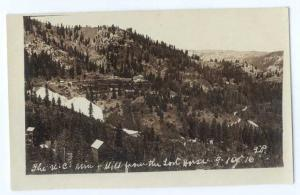 RP The U-C Mine & Mill from the Lost Horse in Oregon OR near