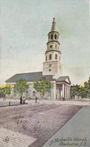 South Carolina Charleston Saint Michaels Church 1913