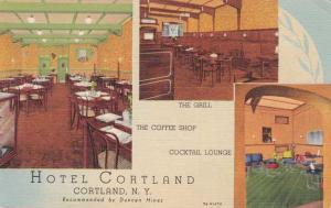 Hotel Cortland - Recommended by Duncan Hines - Cortland, New York Linen