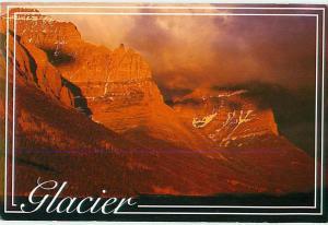 Glacier Sunrise Sunset St Marys Lake Glacier National Park  Postcard  # 8065