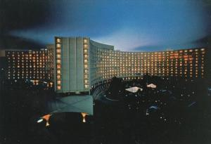 Washington D C The Hilton Hotel At Night Connecticut Avenue NW