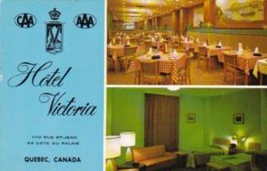 Canada Hotel Victoria Interior Views Quebec