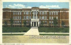 West High School Akron OH 1924