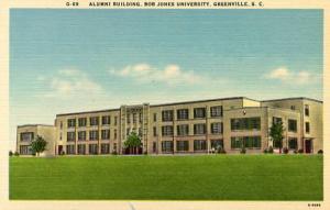 SC - Greenville.  Bob Jones University Alumni Building