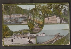 Collage Of Views Minehead Somerset, England - Used 1915 - Wear & Creases