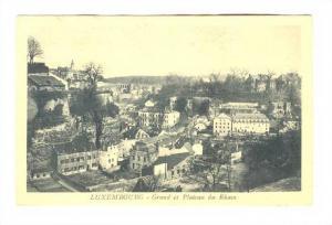 Grund et Plateau Du Rham, Luxembourg, 1900-1910s