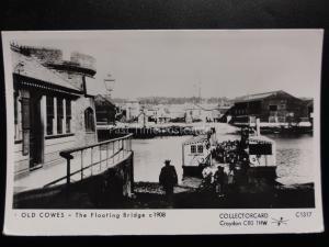 OLD COWES, THE FLOATING BRIDGE Pamlin Print Postcard No.C1317