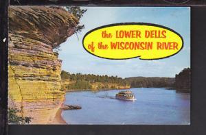 Lower Dells,Wisconsin Dells,WI Postcard