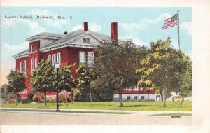 A40/ Blackwell Oklahoma Ok Postcard c1920 Central School Building