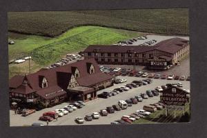 IA Colony Budget Inn Motel WILLIAMSBURG IOWA POSTCARD