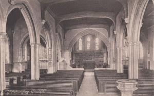 The Horton War Chapel Hospital Organ in Epsom WW1 Antique Postcard