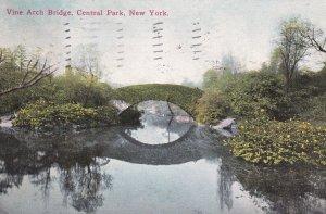 NEW YORK CITY, PU-1911; Vine Arch Bridge