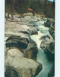 Pre-1980 TOWN VIEW SCENE Jasper Alberta AB p9305
