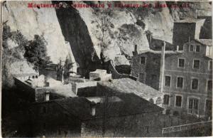 CPA Montserrat Cementerio y exterior del Restaurant SPAIN (744401)