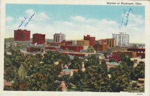 Skyline of Muskogee, Oklahoma, 30-40s