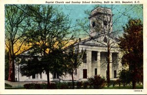 South Carolina Beaufort Baptist Church and Sunday School Building