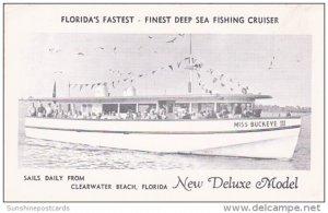 Florida Clearwater Miss Buckeye III Deep Sea Fishing Cruiser