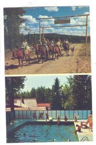 Grattan's Big G Guest Ranch, Lone Butte,  British Columbia, Canada, 50-60s