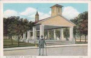 Florida St Augustine Old Slave Market Curteich