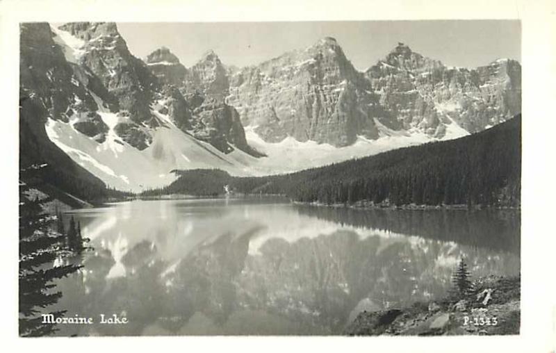 RPPC of Moraine Lake Alberta