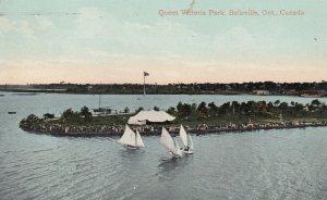 BELLEVILLE , Ontario , Canada , 1910 Queen Victoria Park