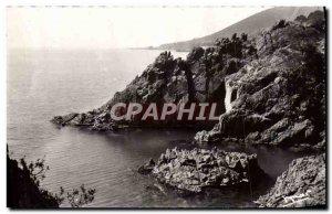 Modern Postcard The Cliffs Of Trayas I & # 39Esterel