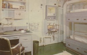 MOBILE , Alabama; 50-60s; USS ALABAMA , State Room