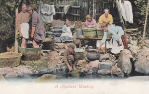 A Highland Washing , Scotland , 00-10s