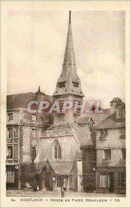 Postcard Old Honfleur Musee du Vieux Honfleur