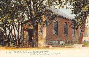 Marblehead Massachusetts~St Michaels Church~English Materials~1905 Rotograph Co