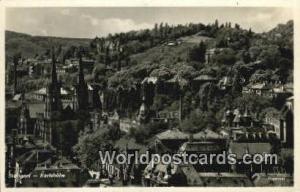 Stattgart Germany, Deutschland Postcard Karlshohe Stattgart Karlshohe