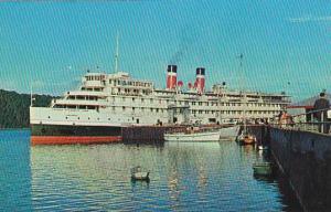 Canada Steamship Lines Saguenay Cruise Ship