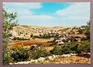 Hebron - General View, Kingdom of Jordan Postcard