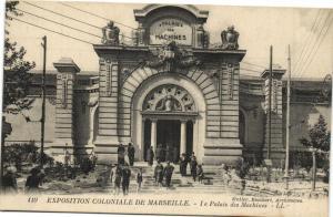 CPA MARSEILLE EXPO 110 Le Palais des Machines (132656)