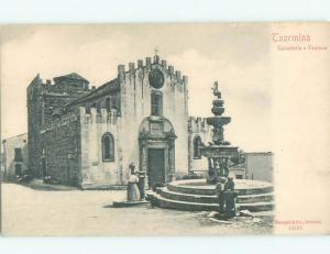 Pre-1907 NICE VIEW Taormina - Taurmina - Messina - Sicily Italy i5312