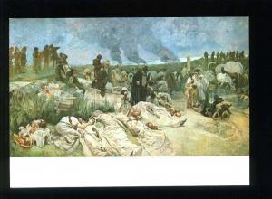 208454 CZECH Alfons Mucha Petr Chelcicky old postcard