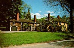 Massachusetts Concord The Bullethole House