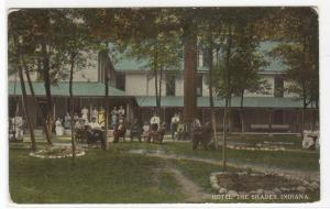 Hotel The Shades Indiana 1910c postcard