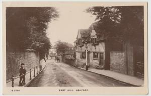 Kent; East Hill, Ashford RP PPC By WH Smith, 1909 PMK, Animated Street Scene